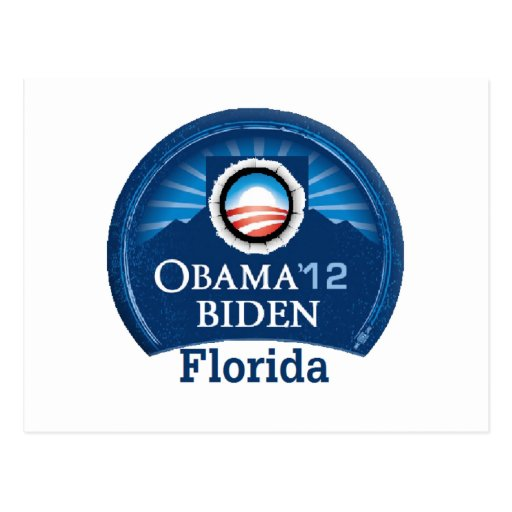 Obama Biden la FLORIDA Postal
