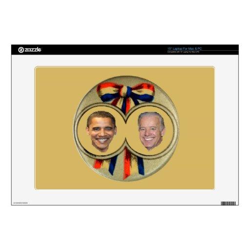 Obama Biden Laptop Skins
