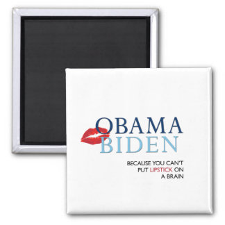 Obama Biden Magnet - anti Palin McCain