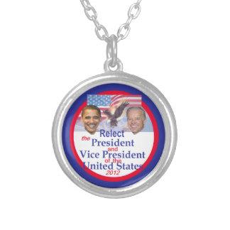 Obama Biden Necklaces