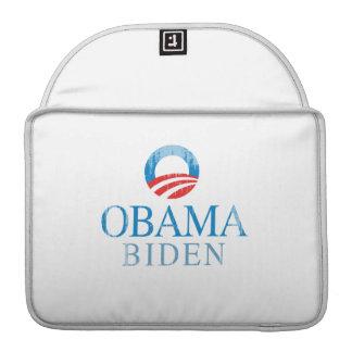 Obama BIden O blue Vintage.png Sleeve For MacBooks