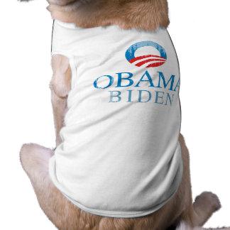 Obama BIden O blue Vintage.png Pet T Shirt