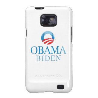 Obama BIden O Vintage.png azul Samsung Galaxy SII Carcasas