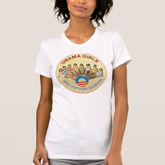 Obama Biden Obama Girls Are Hip For Barack Vintage T-Shirt