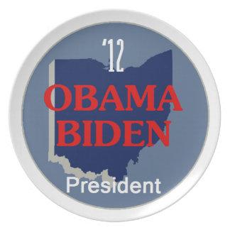 Obama Biden OHIO Platos