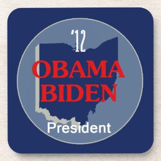 Obama Biden OHIO Posavasos De Bebida