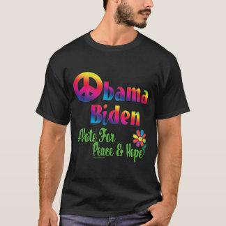 Obama Biden Peace  Hope 2008 T-Shirt