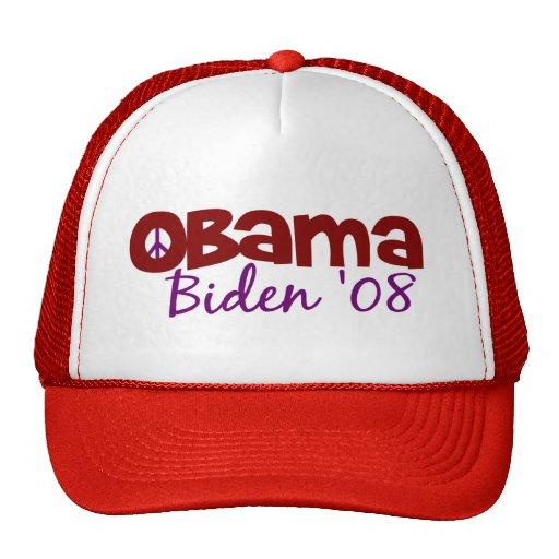 Obama Biden Peace Trucker Hat