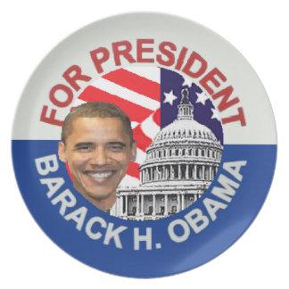 Obama Biden Platos Para Fiestas