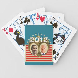 Obama Biden Bicycle Playing Cards