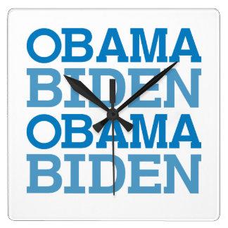OBAMA BIDEN - png Clocks