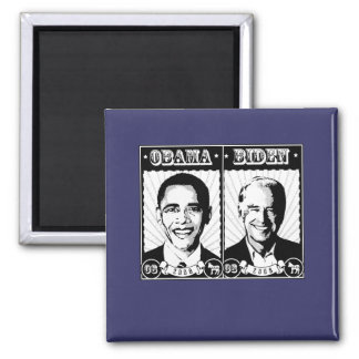 Obama Biden Poster Fridge Magnet