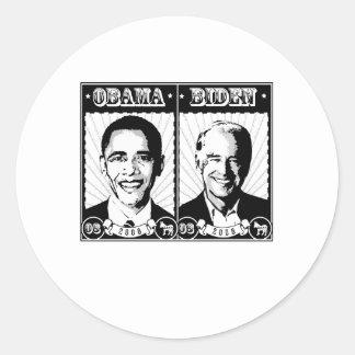 Obama Biden Poster Sticker