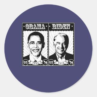 Obama Biden Poster Stickers