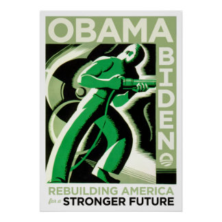 Obama / Biden: Rebuilding America Print