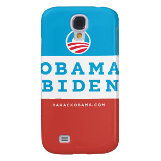 Obama Biden (Red White Blue) iPhone Case Galaxy S4 Cover