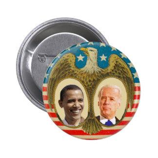 Obama Biden Retro Button