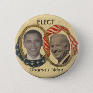Obama/Biden Retro-style Button