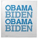 Obama Biden Servilleta