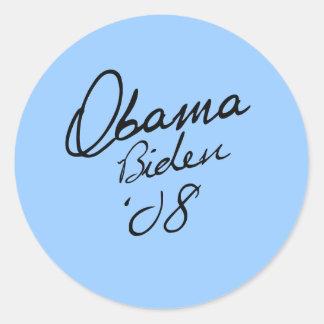 Obama Biden Signature Stickers