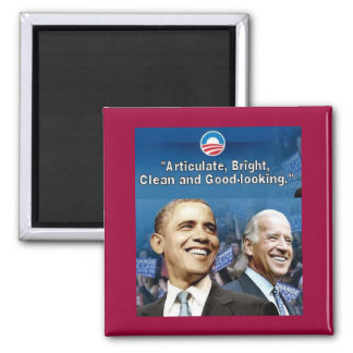 Obama Biden Square Magnet Refrigerator Magnets