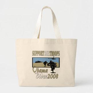 Obama Biden Support Our Troops Bag