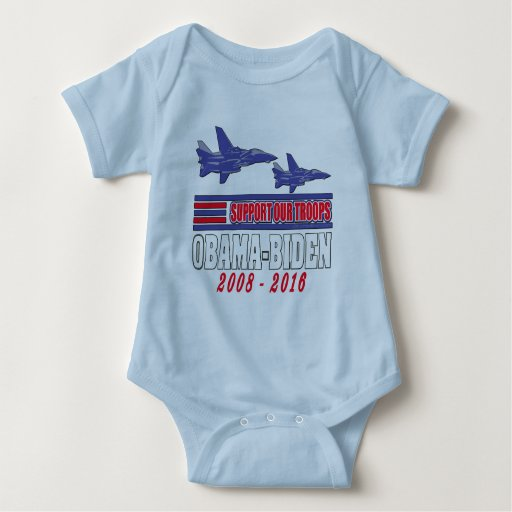 Obama Biden Support Our Troops Shirts