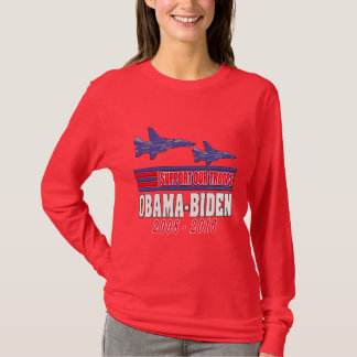 Obama Biden Support Our Troops T-Shirt