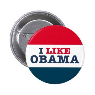 Obama Biden tengo gusto de Obama (el botón) Pin Redondo De 2 Pulgadas