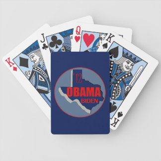 Obama Biden TEXAS Bicycle Playing Cards