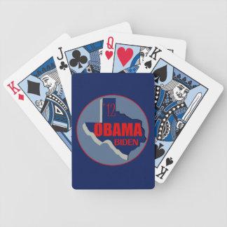 Obama Biden TEXAS Bicycle Playing Cards
