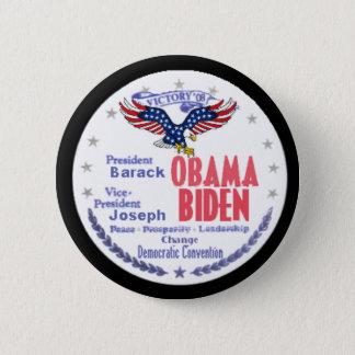 Obama Biden Ticket Button