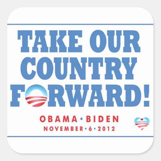 Obama - Biden TOCF & Vote Stickers
