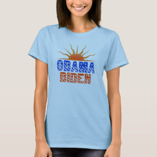 Obama Biden Trendy Unique Sunset Womens Shirt