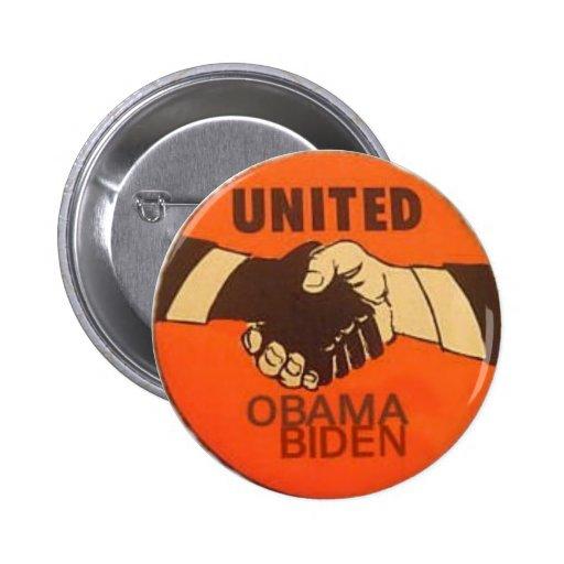 Obama / Biden United Button