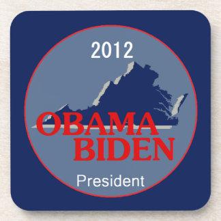 Obama Biden VIRGINIA Beverage Coaster