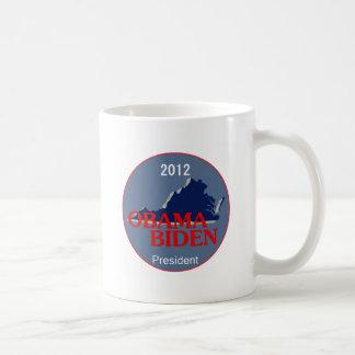 Obama Biden VIRGINIA Coffee Mug