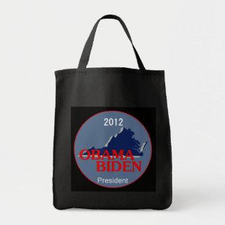 Obama Biden VIRGINIA Tote Bag