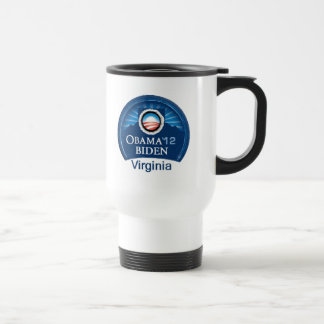 Obama Biden VIRGINIA Travel Mug