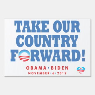 Obama-Biden Window or Yard Sign