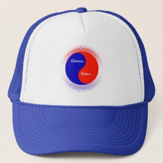 Obama ~ Biden Yin Yang Trucker Hat