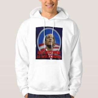 Obama Big Brother Hooded Sweatshirt