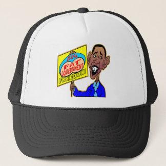 Obama Big Fat Government Crushing Freedom Trucker Hat