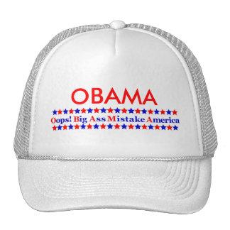 Obama Big Mistake America Trucker Hat