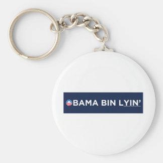 Obama bin Lyin' Basic Round Button Keychain