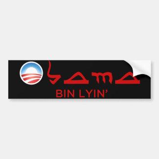 Obama Bin Lyin' Bumper Stickers