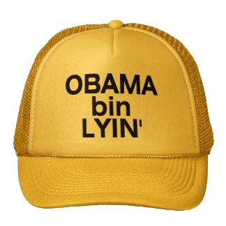 Obama bin Lyin' Hats
