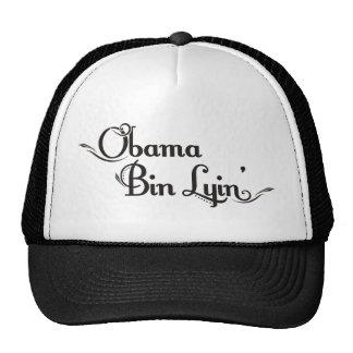 obama bin lyin hat
