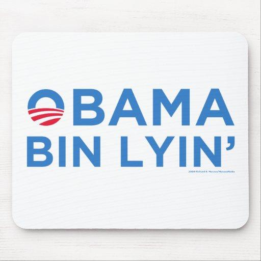 Obama bin Lyin' Mouse Pad