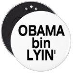 Obama bin Lyin' Pinback Button